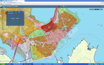 Portland Maine Zoning Map | Path Map